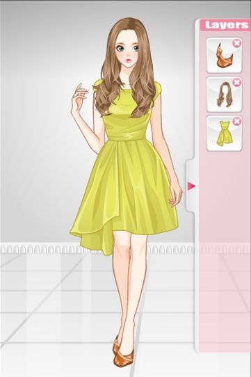 Modern elizabeth anime dress up game http www sweetygame com