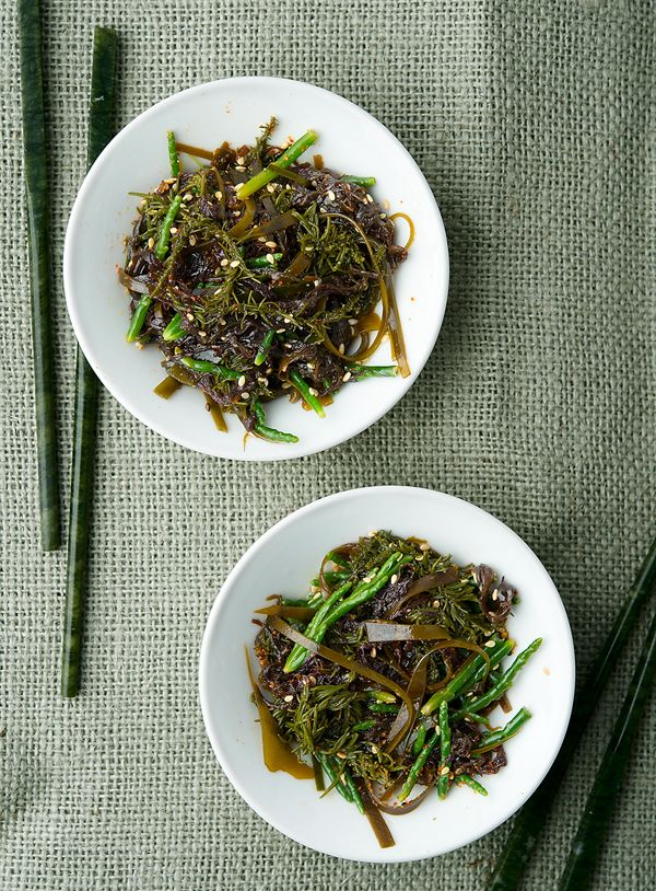 seaweed salad recipe | Delicious Eats On the Wild Side | Pinterest