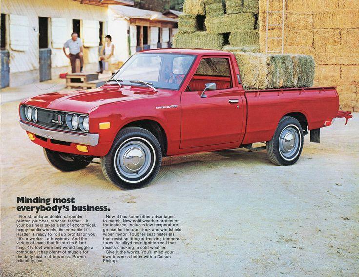 1973 Datsun Pickup Trucks Pinterest