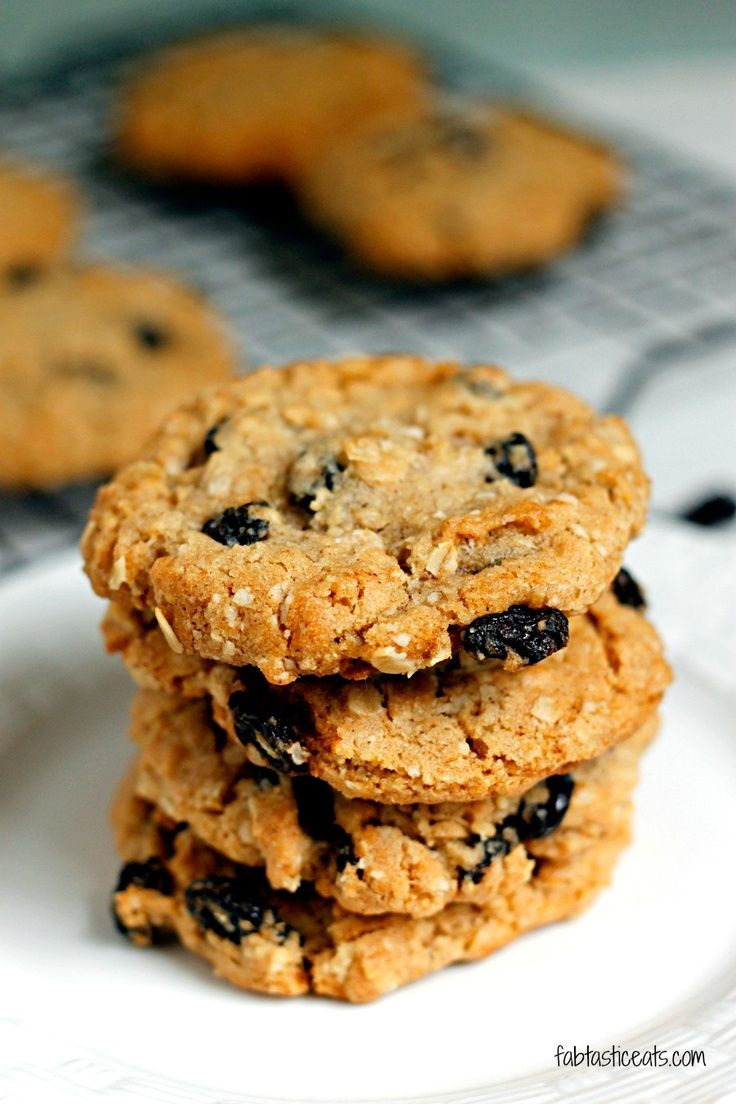 Crispy Oatmeal Raisin Cookies | Good Eats | Pinterest