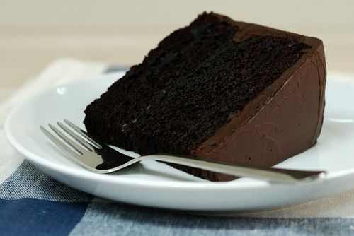Double layer chocolate cake | For the Foodies | Pinterest
