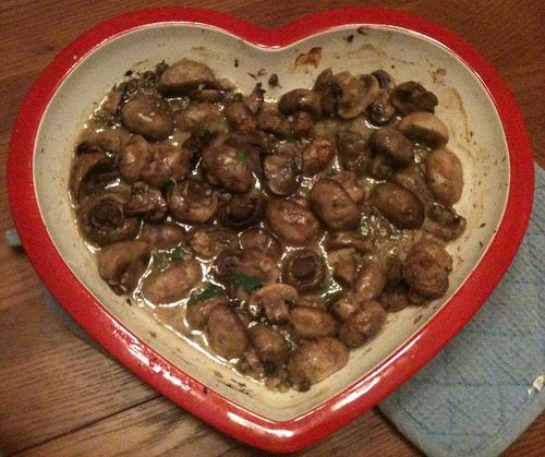 Garlic Butter Roasted Mushrooms | Bon Appétit | Pinterest