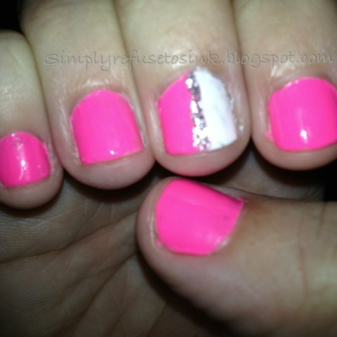 Pink, White & Glitter