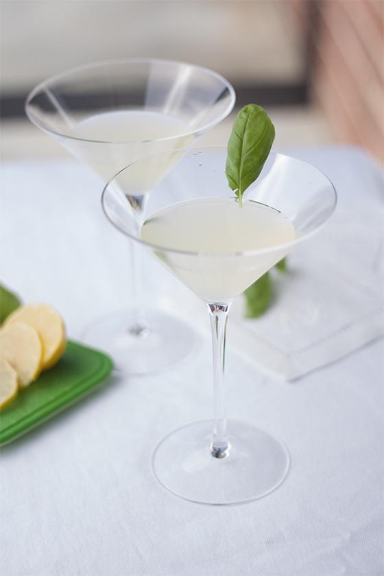 Meyer Lemon Basil Martini | Tippling | Pinterest