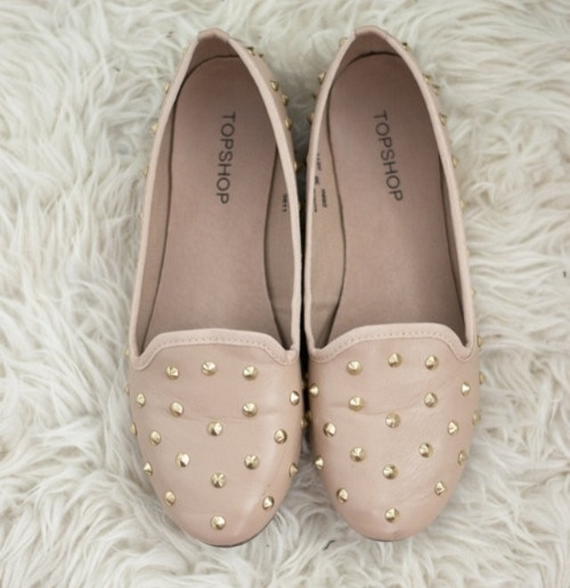 studded shoes - topshop