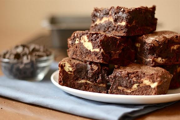 Goat Cheese Brownies. | brownies!! | Pinterest
