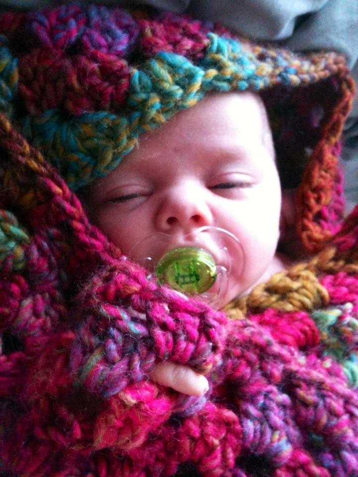 Crochet Patterns For Baby Sport Yarn : Chunky crochet blanket Crochet crochet Pinterest