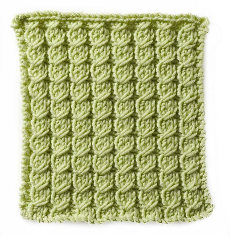 Crochet Stitches Cable : Stitchfinder : Knitting Pattern: Mini Cable :