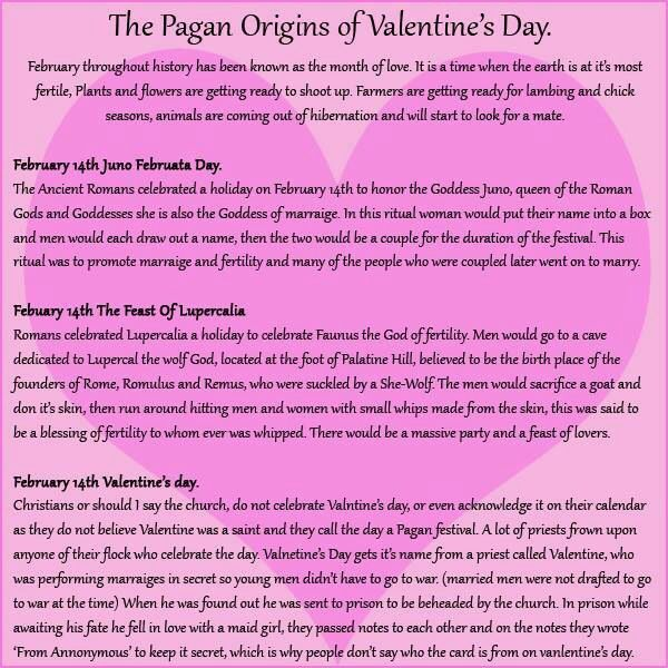 valentine's day origin and meaning