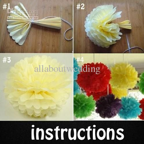 how to make a tissue paper ball decoration Diy tissue paper ball-i'm doing this for my wedding excited to have craft dates find this pin and more on art paper / arte de papel by indirafigueroa.