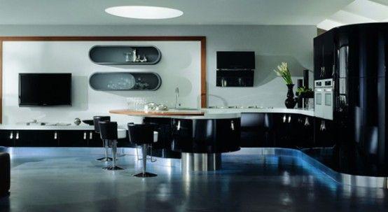 Very modern kitchen dreamy kitchens pinterest for Very modern kitchens