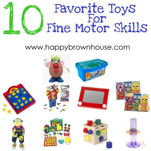 10 favorite toys for fine motor fun for Toys to improve motor skills