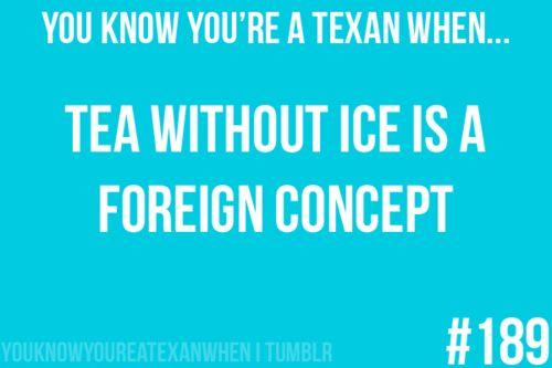 mmmm sweet iced tea :)
