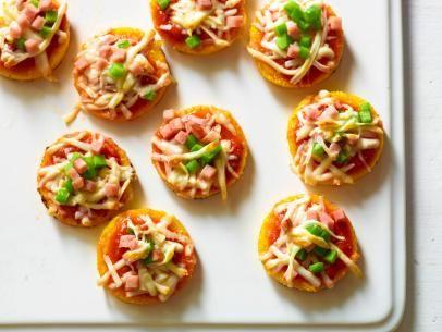 Polenta Mini Pizzas With Mighty Marinara Sauce Recipes — Dishmaps