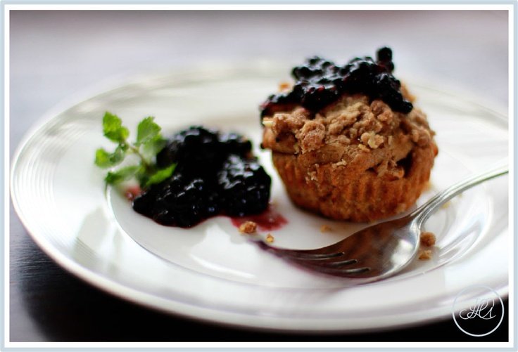 Apple Blackberry Crumble Muffins | Muffins....savory and sweet! | Pin ...