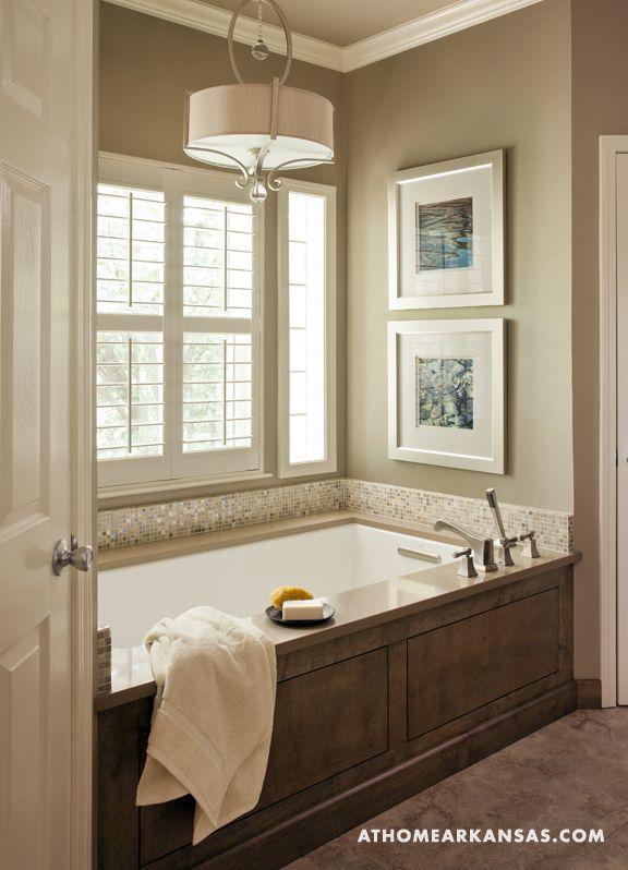 Bathroom tub surround - Soothing Sanctuary | At Home Arkansas