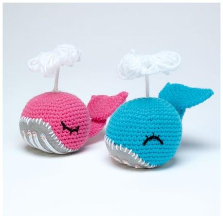 Big Whale Amigurumi : Ballenas en crochet - Whale amigurumi Amigurumis cuties ...