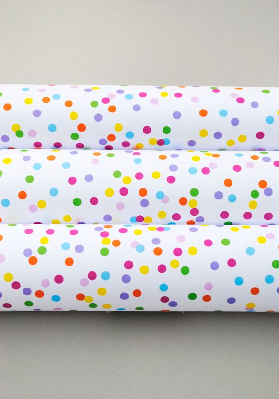 Free Printable: confetti wrapping paper