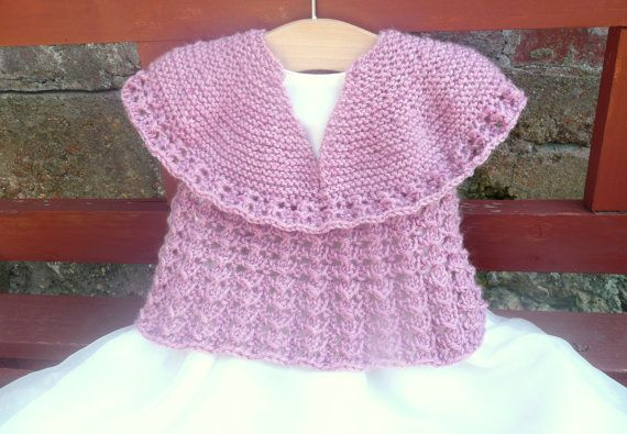 Knitting Pattern For Seamless Sweater : Knitting PATTERN Seamless Top Down Baby Girl CARDIGAN ...