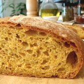 """No Knead"""" Pumpkin French-Style Bread Recipe"""