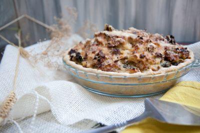 sausage, kale and mashed potato pie | Food: Dinner | Pinterest