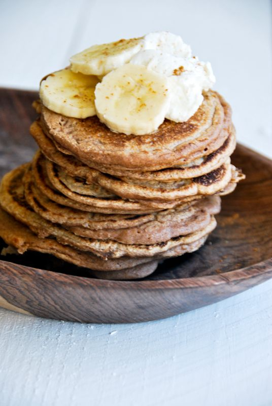 Sprouted Spelt Pancakes | a kitchen cafe | Healthy food | Pinterest