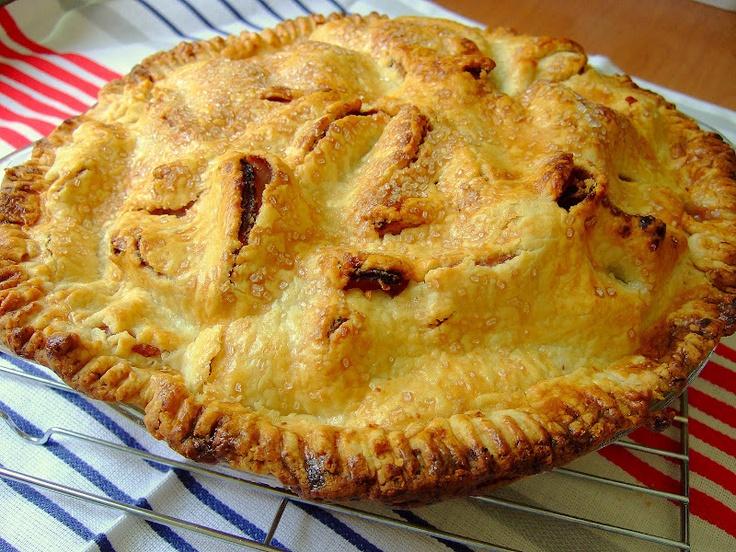 Martha's Mile High Apple Pie   Pie O My: pie