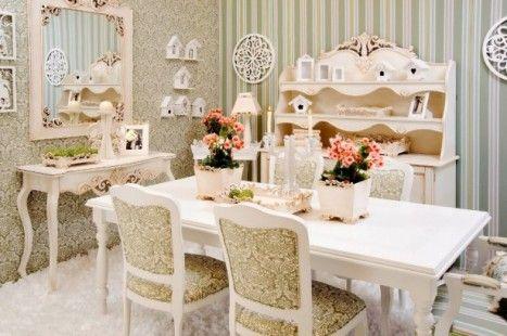 Sala de Jantar Estilo provençal
