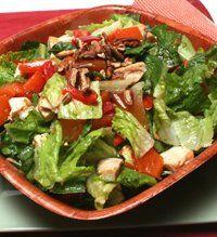 Mango Pecan Salad with Chicken | Yum Yum for the Tum Tum | Pinterest