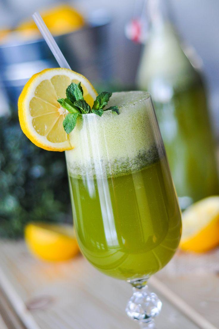 Limonana - Frozen Mint Lemonade Recipe — Dishmaps
