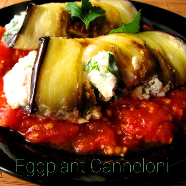 Eggplant Cannelloni | Apple Harvests | Pinterest