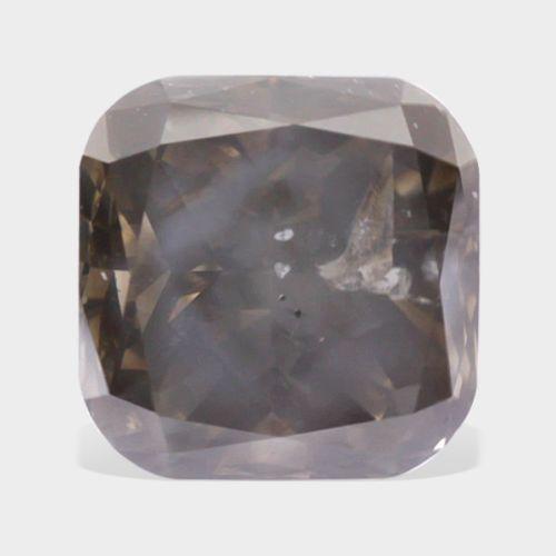 02 carat SI-3 Clarity Cushion Cut Loose Natural Champagne Diamond