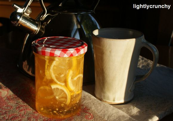 HONEY LEMON GINGER TEA – EASY REMEDY FOR COLDS, COUGHS AND SORE ...