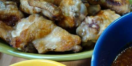 Michael's Grilled Chicken Wings....chef at home....3/3..... .SEASON ...