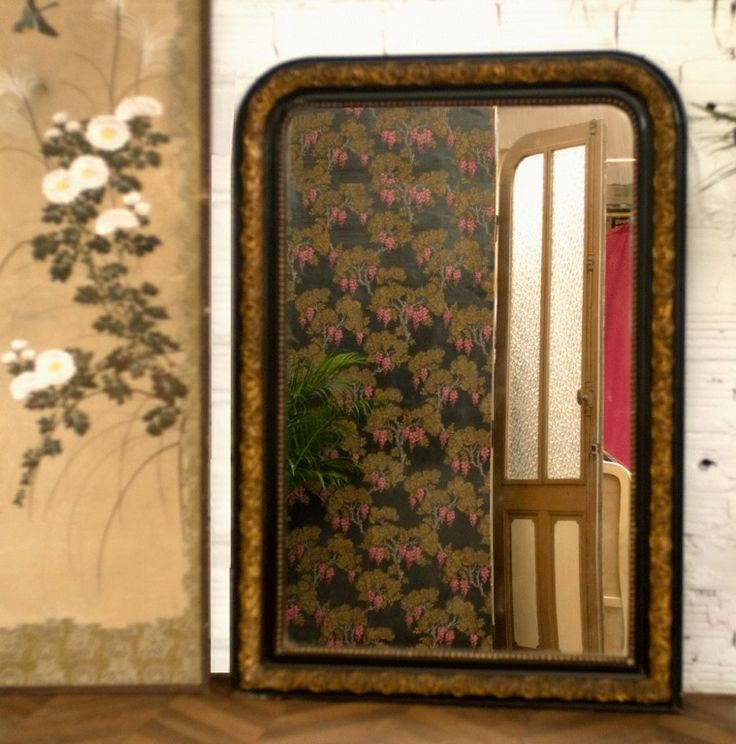 Grand Miroir Louis Philippe  Vintage & Retro Mirrors  Pinterest