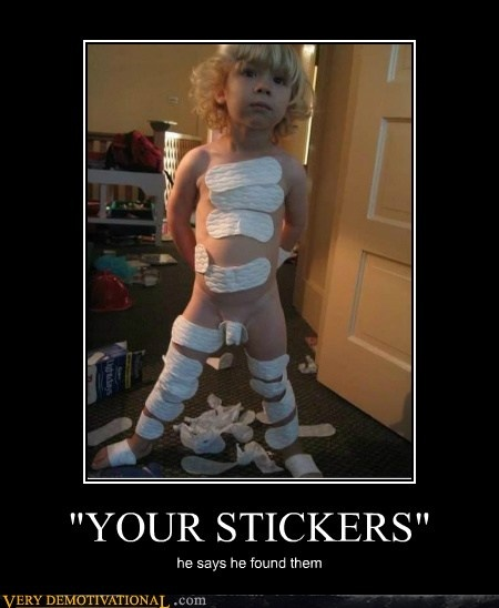 your stickers