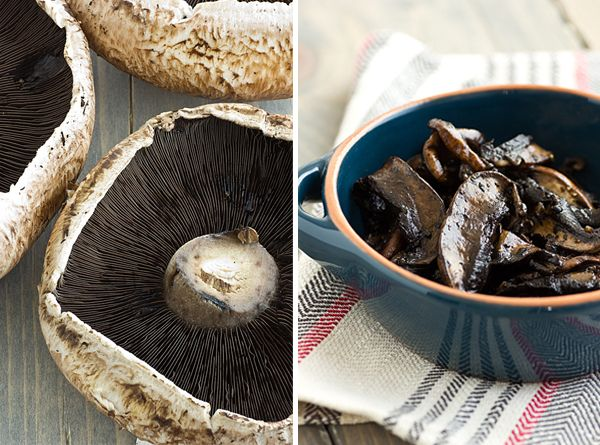 These vegetarian Portabella Mushroom Cheesesteaks are baked in the ...