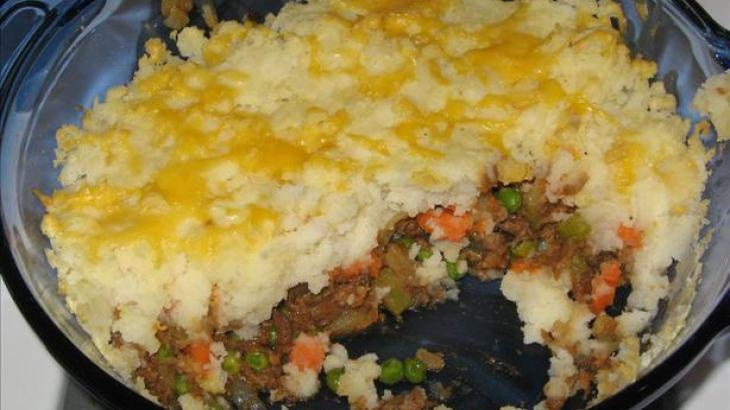 Vegetarian Shepherd's Pie | family feast | Pinterest