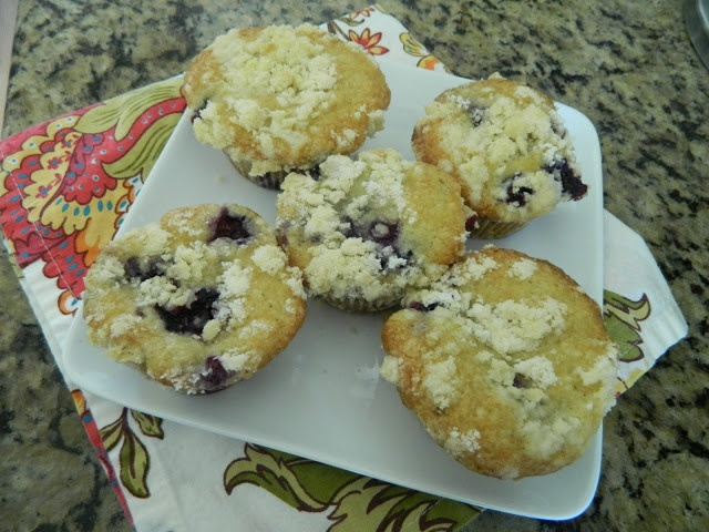 Browned Butter Blueberry Muffins | Amazing Food | Pinterest