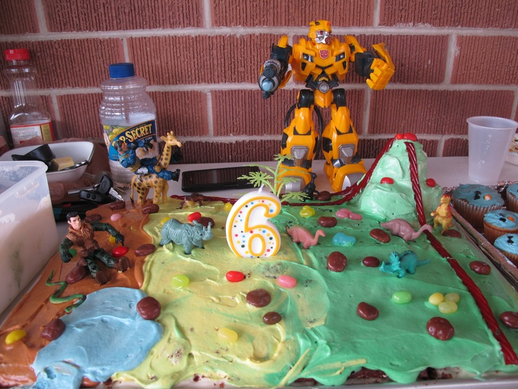 Wild Kratts And Cake Ideas and