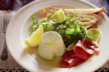 Cucumber panna cottas with smoked salmon | Your Salmon Recipes! (Shar ...