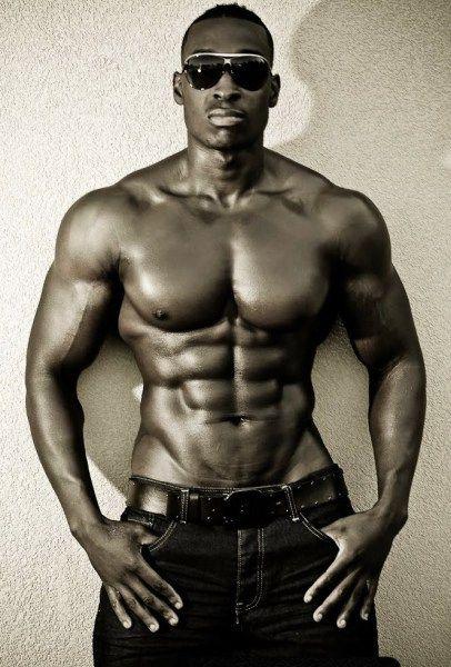 Athletic Black Men 7
