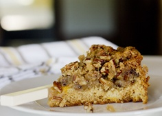 peach praline coffee cake | Cakes & Cupcakes | Pinterest