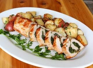 stuffed pork tenderloin with spinach | recipes | Pinterest
