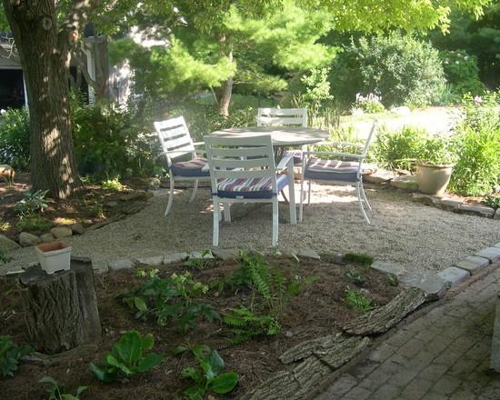 Pea Gravel Backyard Ideas : Pea Gravel Design  Garden  Pinterest