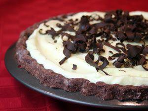 Black Bottom Pie | Pie I LOVE Pie | Pinterest