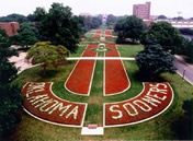 South Oval on the University of Oklahoma campus, Norman, OK