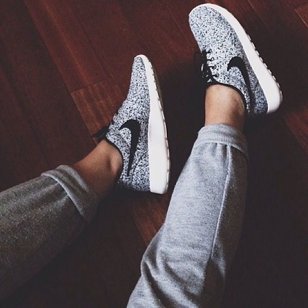 Gym outfit trainers nike free run