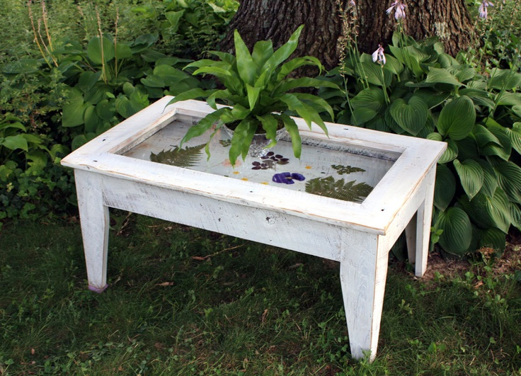 Display Coffee Table With Glass Top Reclaimed Wood Rustic Contemp