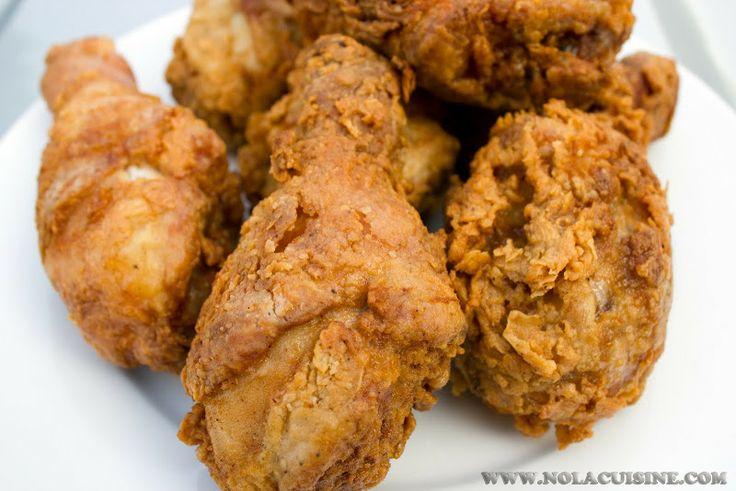 Buttermilk Fried Chicken Recipe   Thanksgiving   Pinterest